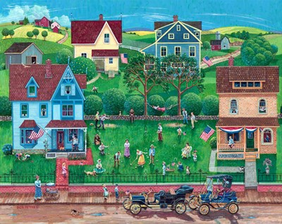 4th Of July art print by Bob Pettes for $53.75 CAD