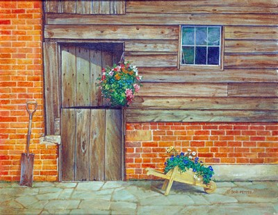 Garden Shed art print by Bob Pettes for $36.25 CAD