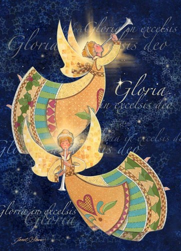 Gloria Angels art print by Janet Stever for $40.00 CAD