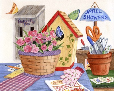 Butterfly Box art print by Maureen Mccarthy for $52.50 CAD