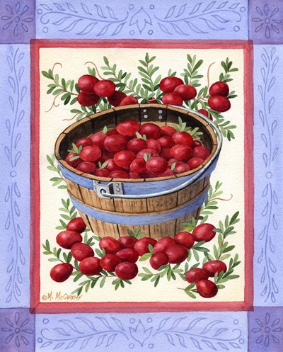 Cranberries art print by Maureen Mccarthy for $53.75 CAD