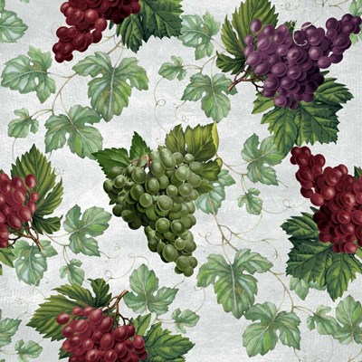 Grape Repeat art print by Tom Wood for $32.50 CAD