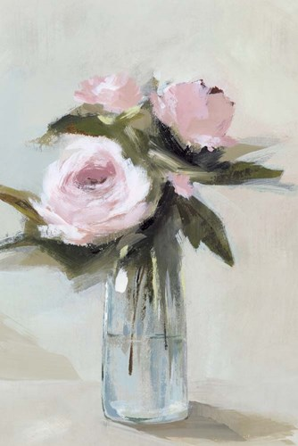 Peonies in a Vase I art print by Isabelle Z for $43.75 CAD