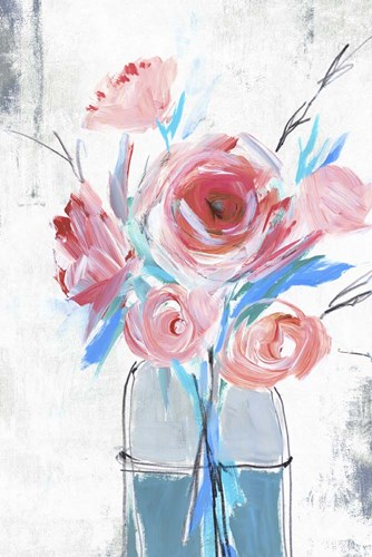 Blue Vase I art print by Isabelle Z for $43.75 CAD