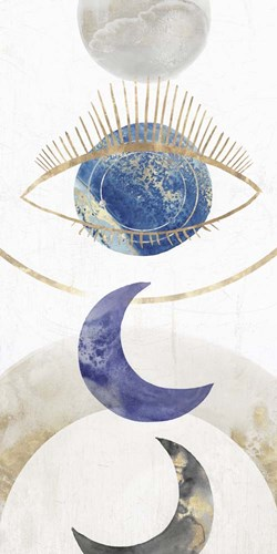 Crescent Moon II art print by Isabelle Z for $42.50 CAD