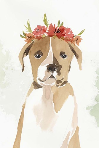 Puppy II art print by Isabelle Z for $43.75 CAD
