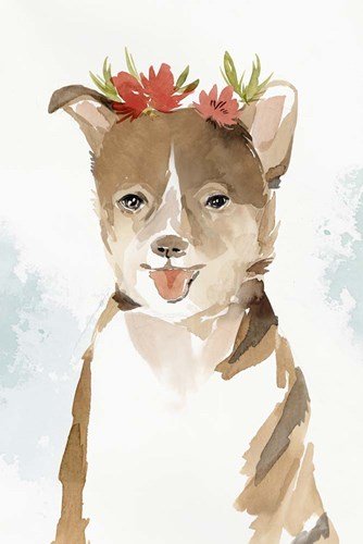 Puppy III art print by Isabelle Z for $43.75 CAD