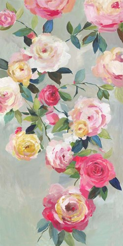 Cascade of Roses III art print by Asia Jensen for $42.50 CAD