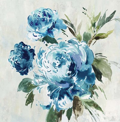 Blue Peony II art print by Asia Jensen for $57.50 CAD