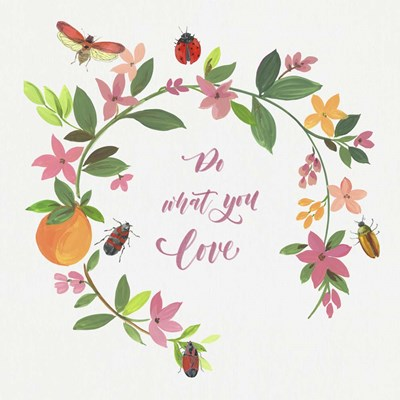 Do What You Love art print by Asia Jensen for $56.25 CAD