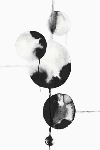 Dripping Bubbles II art print by Posters International Studio for $43.75 CAD