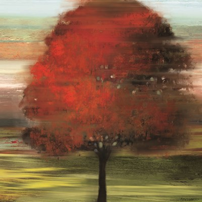 Flow Trees I art print by Allison Pearce for $35.00 CAD