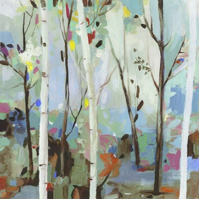 Birchwood Forest art print by Allison Pearce for $56.25 CAD