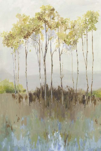 Peaceful Woodland art print by Allison Pearce for $43.75 CAD