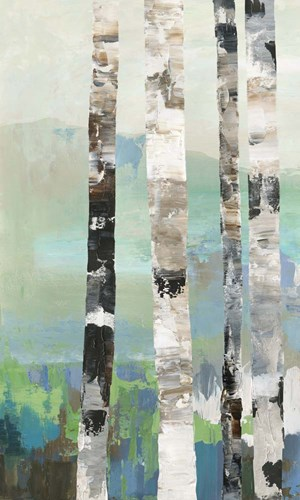 Birchwood I art print by Allison Pearce for $47.50 CAD
