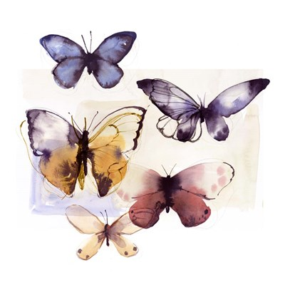 Butterfly Fly Away III art print by Posters International Studio for $56.25 CAD