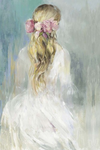 Girl in White Dress art print by Aimee Wilson for $43.75 CAD