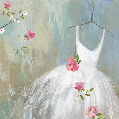 White Dress art print by Aimee Wilson for $56.25 CAD