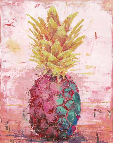 Painted Pineapple I art print by Marie-Elaine Cusson for $53.75 CAD