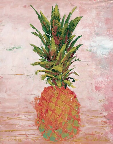 Painted Pineapple II art print by Marie-Elaine Cusson for $53.75 CAD