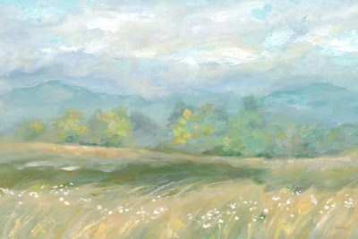 Country Meadow Landscape art print by Cynthia Coulter for $42.50 CAD