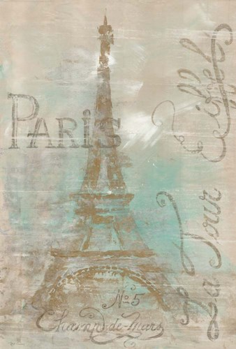 Champs de Mars art print by Marie-Elaine Cusson for $41.25 CAD