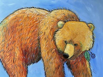 Bear art print by Karrie Evenson for $38.75 CAD