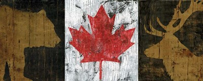 Canada Trio Panel I art print by Marie-Elaine Cusson for $35.00 CAD