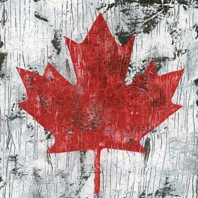 Canada Maple Leaf I art print by Marie-Elaine Cusson for $32.50 CAD