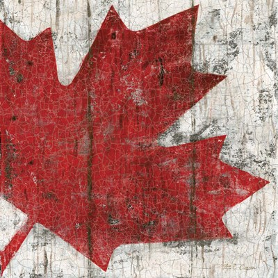 Canada Maple Leaf II art print by Marie-Elaine Cusson for $32.50 CAD