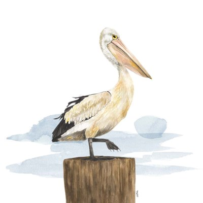 Birds of the Coast on White III art print by Tara Reed for $53.75 CAD