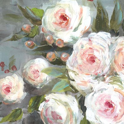 Pink Blooms I art print by Tre Sorelle Studios for $53.75 CAD