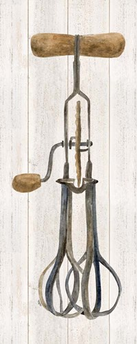 Vintage Kitchen Egg Beater art print by Tara Reed for $35.00 CAD
