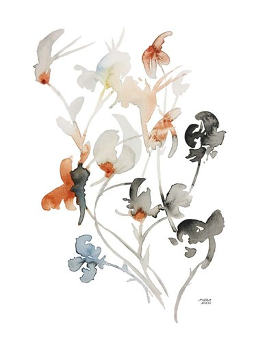 Watercolor Botanical I art print by Andrea Bijou for $38.75 CAD