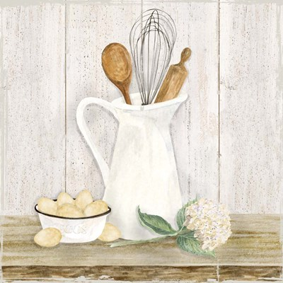 Vintage Kitchen II art print by Tara Reed for $32.50 CAD