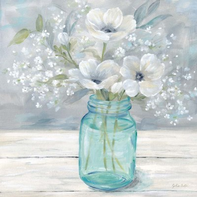 Vintage Jar Bouquet I art print by Cynthia Coulter for $53.75 CAD