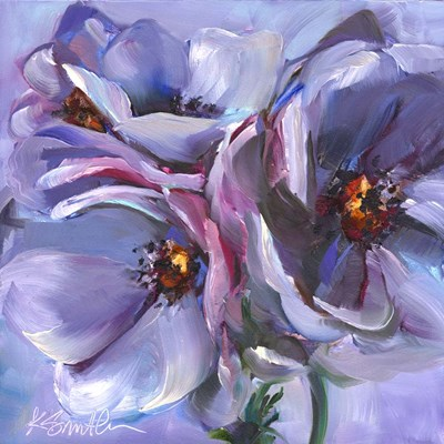 Lavender Flowers art print by Kim Smith for $32.50 CAD