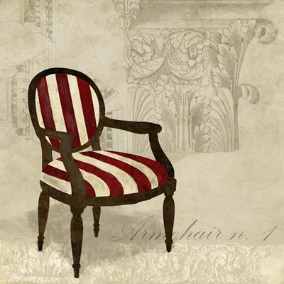 Armchair 1 art print by Remy Dellal for $76.25 CAD