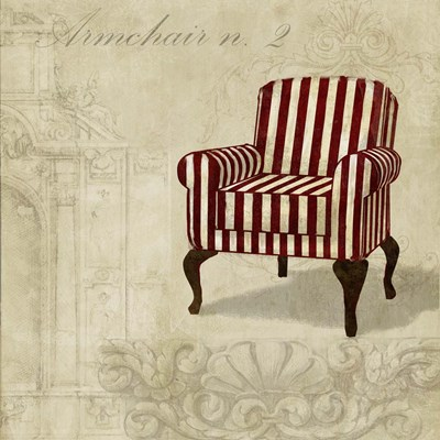 Armchair 2 art print by Remy Dellal for $76.25 CAD