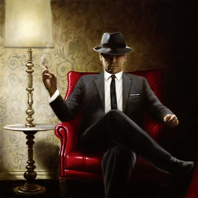 Black Tie art print by John Silver for $76.25 CAD