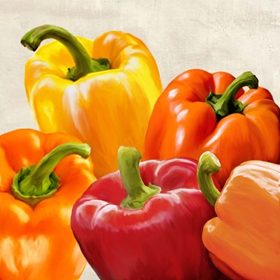 Peppers art print by Remo Barbieri for $76.25 CAD