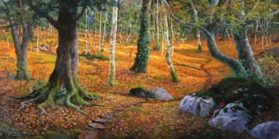 Sottobosco art print by Adriano Galasso for $50.00 CAD