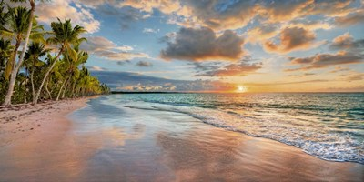 Beach in Maui, Hawaii, at sunset art print by Pangea Images for $81.25 CAD