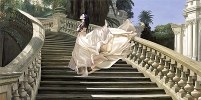 Scala Classica art print by Pierre Benson for $50.00 CAD