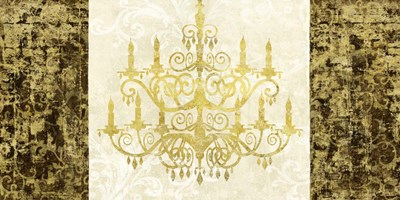 Chandelier Royale art print by Remy Dellal for $50.00 CAD