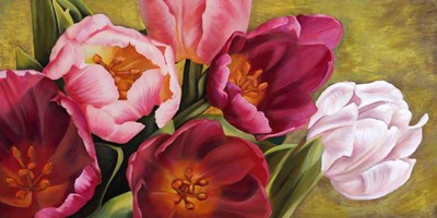 My Tulips art print by Jenny Thomlinson for $50.00 CAD