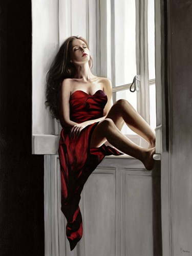 At the Window art print by Pierre Benson for $63.75 CAD