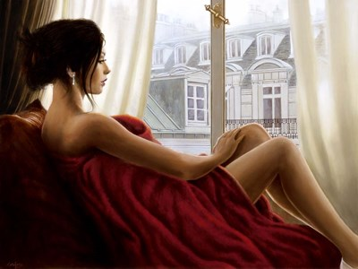 At the Window art print by John Silver for $63.75 CAD