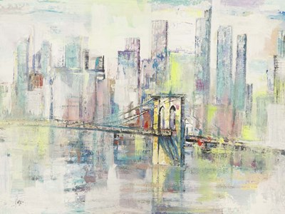 Mattino a Manhattan art print by Luigi Florio for $63.75 CAD