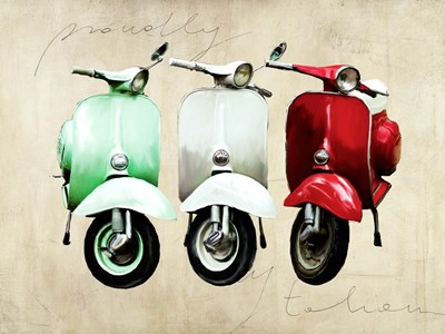 Proudly Italian art print by Teo Rizzardi for $63.75 CAD